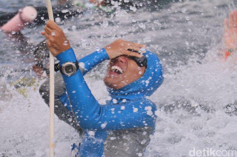 Sabang International Freediving Competition (SIFC) 2018 diadakan tanggal 3-8 November 2018 di Teluk Balohan Sabang (Agus Setyadi/detikTravel)
