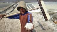 Cerita Petani, Pendapatan Berkurang Gegara Harga Garam Turun