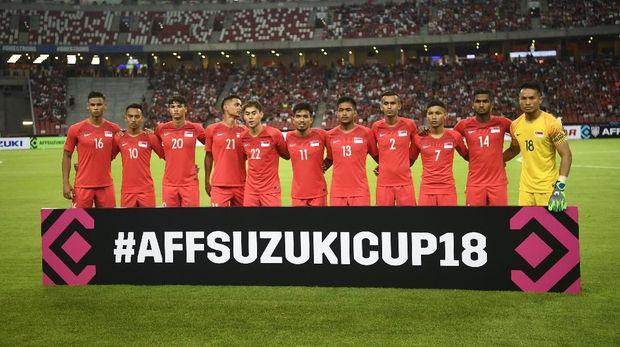Timnas Indonesia di Piala AFF 2018. (
