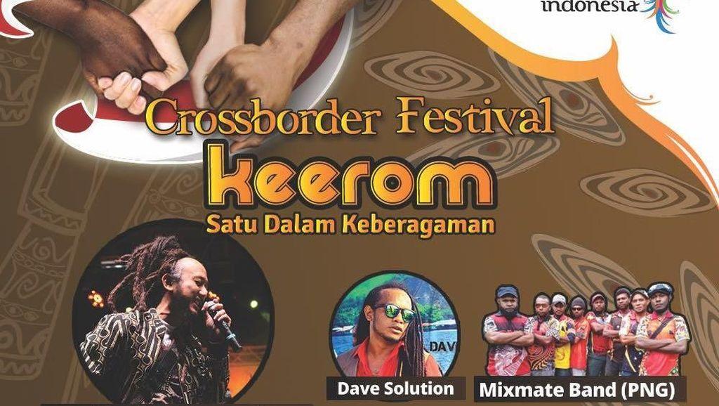 Usung Musik Reggae, Crossborder Festival Keerom Siap Digelar