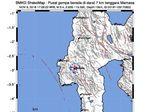 Gempa M 3,4 Kembali Guncang Mamasa Pagi Ini