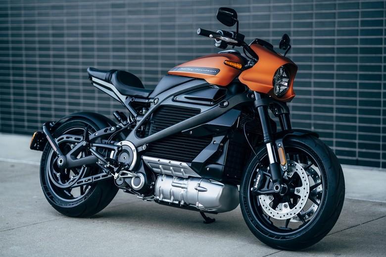 Moge Listrik Harley-Davidson. Foto: Josh Kurpius/LiveWire Harley-Davidson