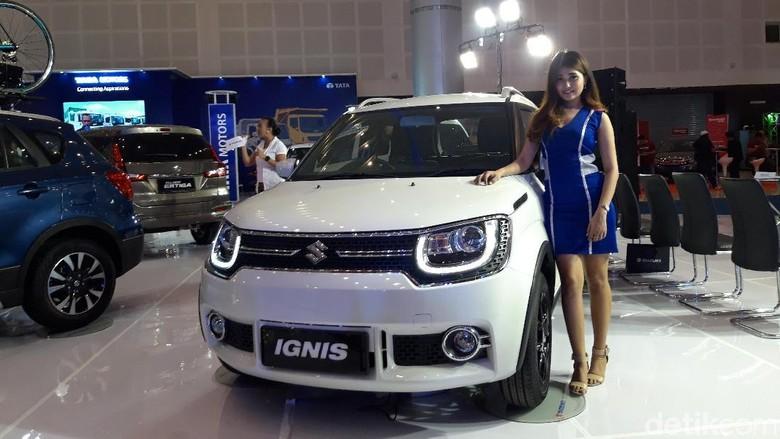 Suzuki Ignis di IIMS Surabaya (Foto: Hilda Meilisa Rinanda)
