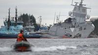 Insiden ini terjadi di laut bagian utara Norwegia. NTB Scanpix/Marit Hommedal via REUTERS.