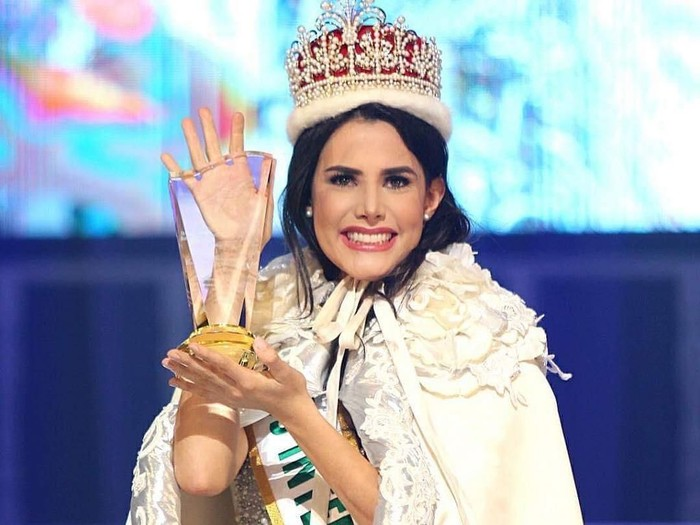 Mariem Velazco dari Venezuela jadi juara Miss International 2018. Foto: Instagram @missinternationalofficial