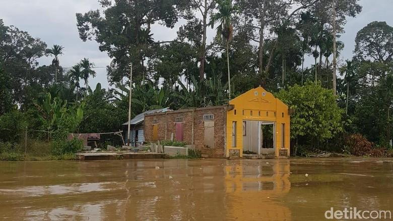 Kabupaten Inhu Riau Dilanda Banjir, Sejumlah Sekolah Diliburkan