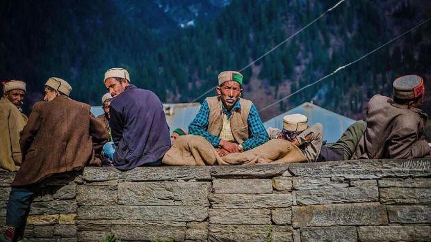 Desa Malana di Himalaya