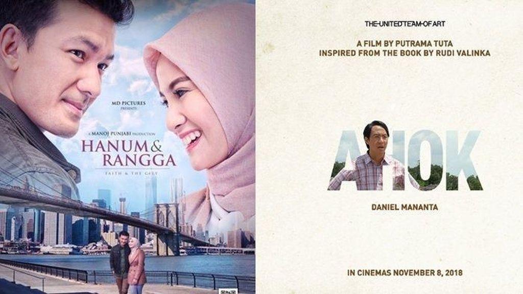 Hanum & Rangga Pamit, A Man Call Ahok Masih Bertahan di Bioskop