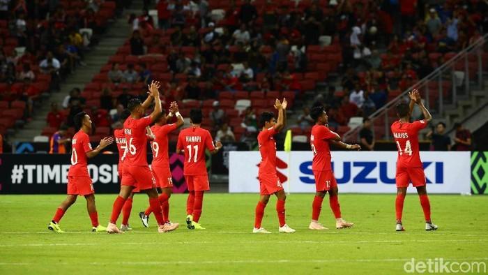 Timnas Indonesia di Piala AFF 2018.  Foto: Pradita Utama