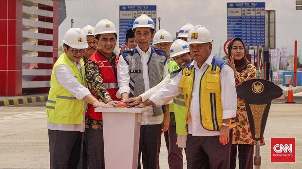 Presiden Jokowi Resmikan Tol Pejagan-Pemalang Seksi 3-4