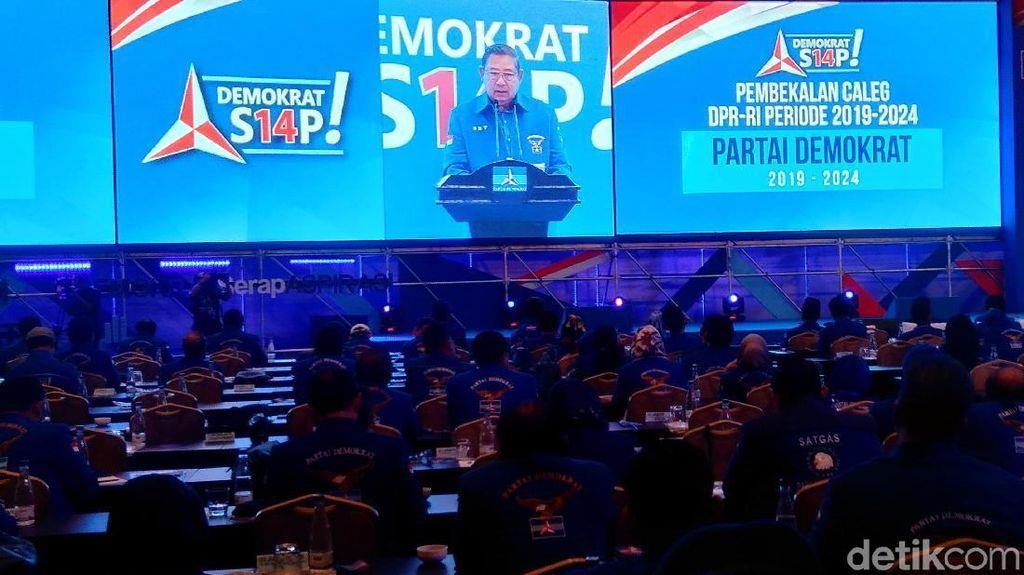 SBY Buka Pembekalan Caleg Demokrat