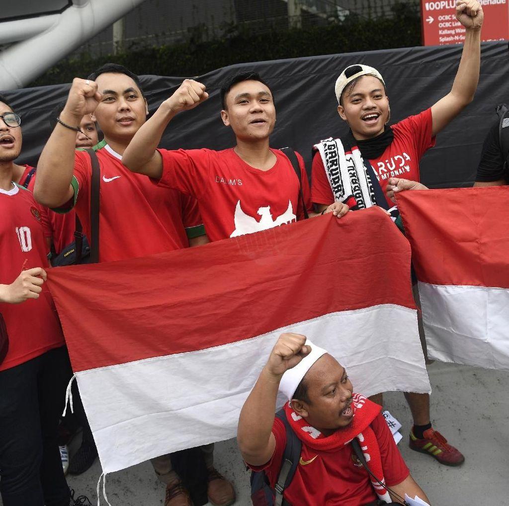 Nonton Indonesia vs Timor Leste di GBK, Ini Harga Tiketnya