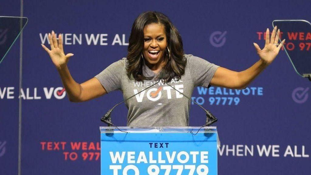 Memoar Michelle Obama Ungkap Pandangan Soal Trump