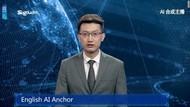 Wah! China Bikin Robot Pembaca Berita