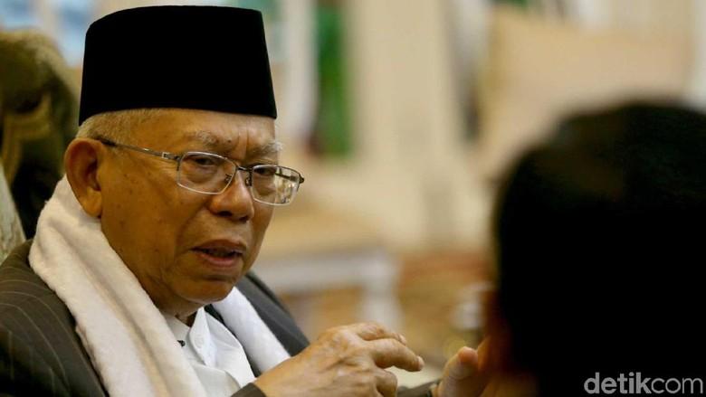 Ahok Bebas, Maruf Amin: Dia Sudah Patuh Jalani Hukuman