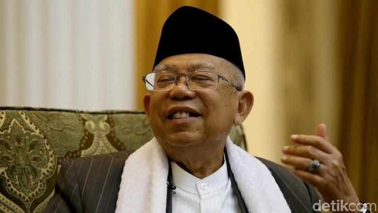 Prabowo Kritik Media, Maruf Amin: Saya Berteman dengan Media