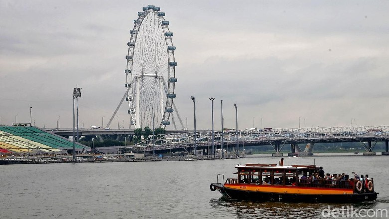 Ilustrasi Singapura (Pradita/detikcom)