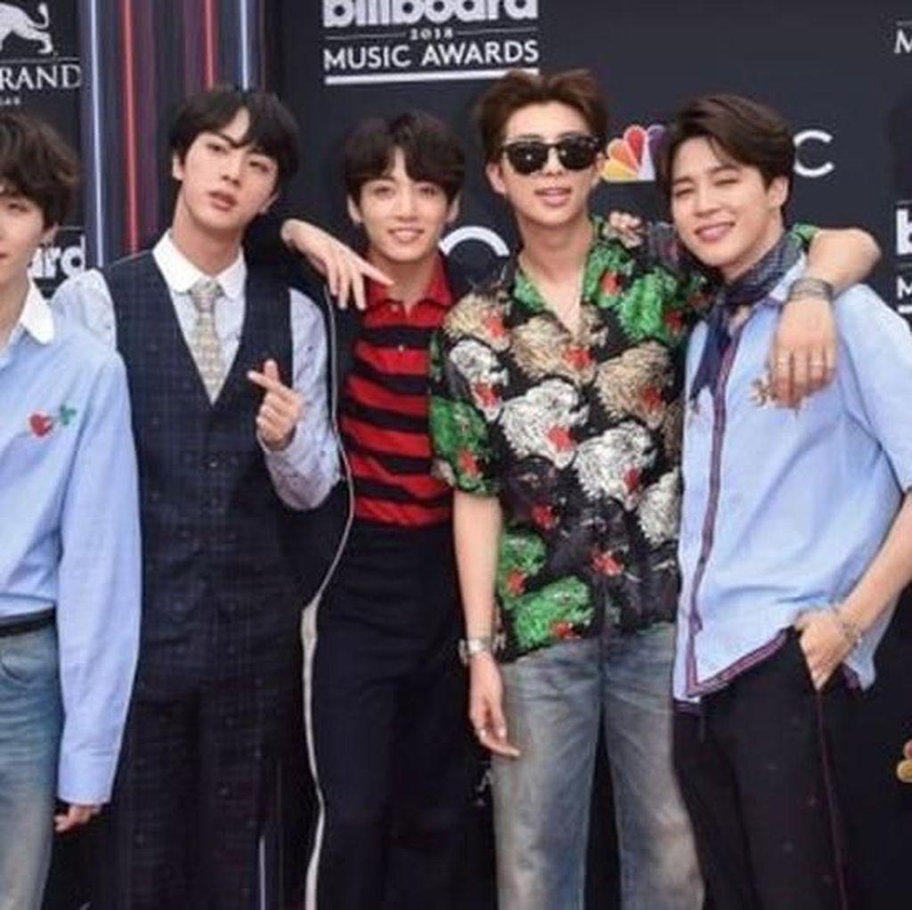 BTS Jadi Grup K-Pop Pertama di Nominasi Grammy, Mimpi Suga Jadi Nyata