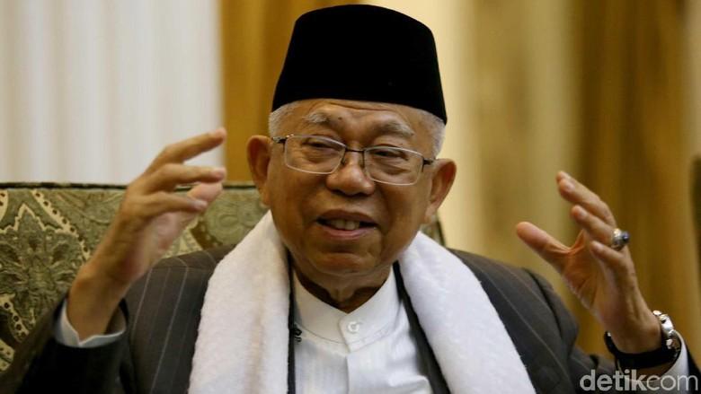 Maruf Amin Dilaporkan ke Bawaslu soal Pernyataan Budek-Buta