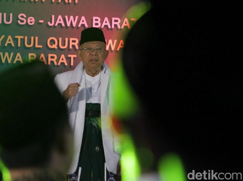 Maruf: Orang Sehat Bisa Lihat Prestasi Jokowi, Kecuali Budek-Buta