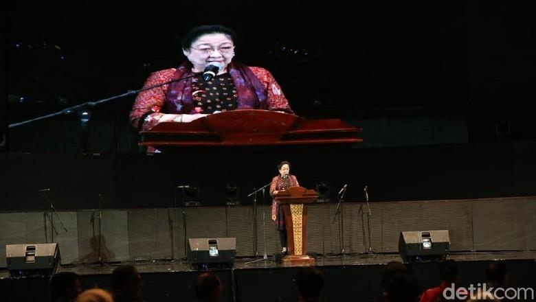 Megawati ke Kaum Wanita: Kalau Bicara Cabe Sudah Bicara Politik