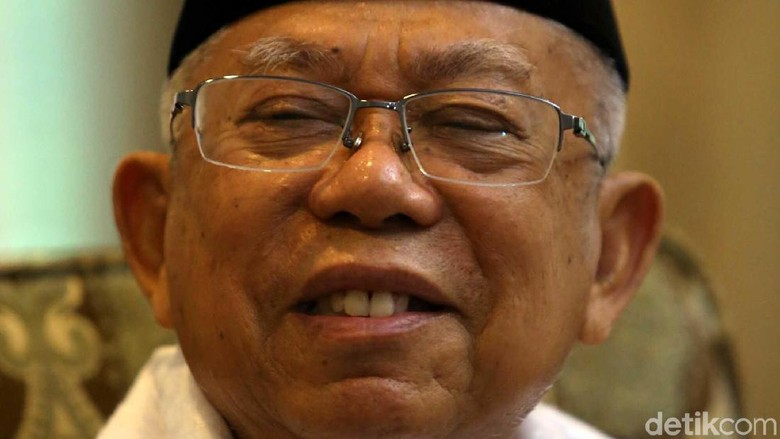 Maruf Amin: Jokowi Dianggap Santri Situbondo
