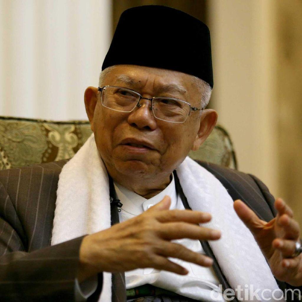 Tonton! Blak blakan Maruf Amin, Gerilya Sang Kiai untuk Jokowi