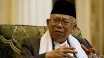 Blak-blakan Maruf Amin: 212 Awal Intens Bareng Jokowi