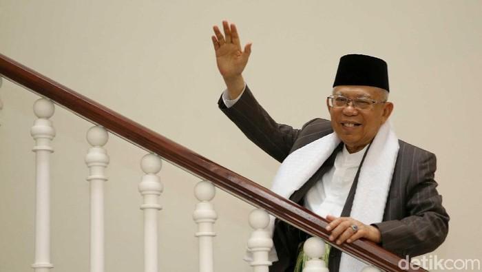 KH Maruf Amin Blak-blakan bersama Detikcom