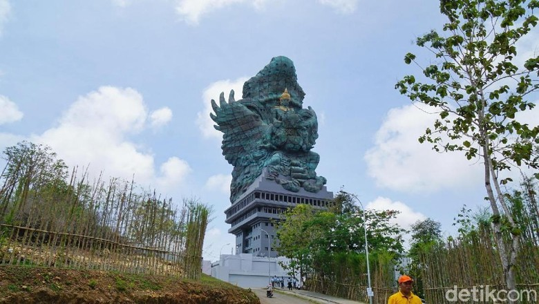 Patung Garuda Wisnu Kencana (Syanti/detikTravel)