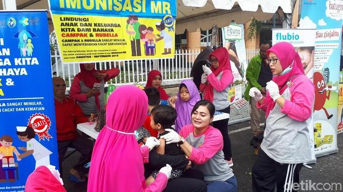 Hari kesehatan nasional di Riau diperingati di Pekanbaru (Foto: detikHealth)