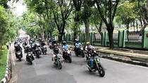 Jokowi Pimpin Konvoi Bikers Brotherhood di Bandung