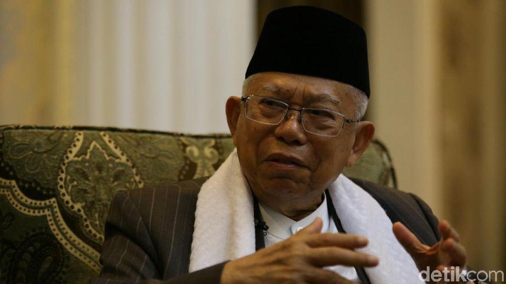 Maruf Amin Sebut Pelaku Ekonomi Syariah Harus Melek Teknologi