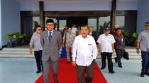Wapres JK Bertolak ke Palu, Akan Rapat Soal Rehabilitasi Sulteng