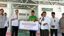 JK Kunjungi Masjid Athirah Bantuan DMI di Palu