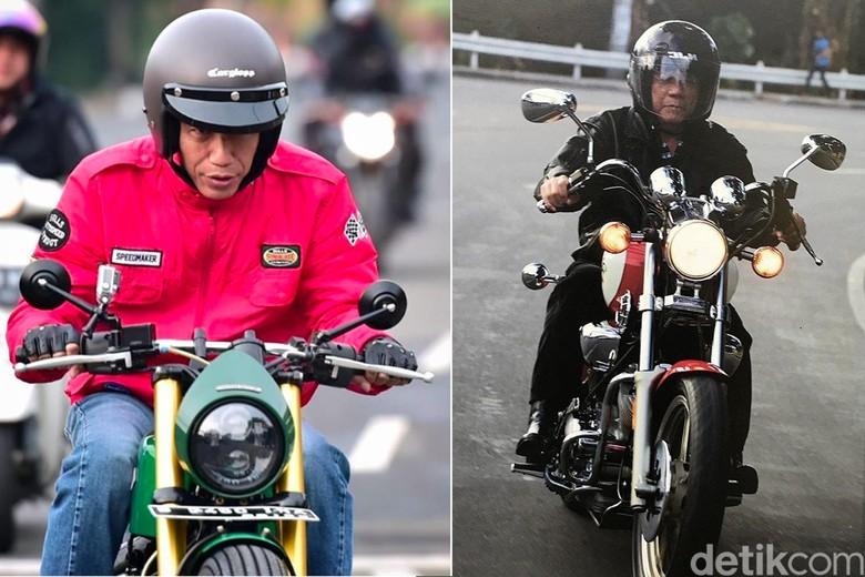 Presiden Joko Widodo dan Presiden Filipina Rodrigo Duterte yang Hobi Motoran. Foto: Istimewa