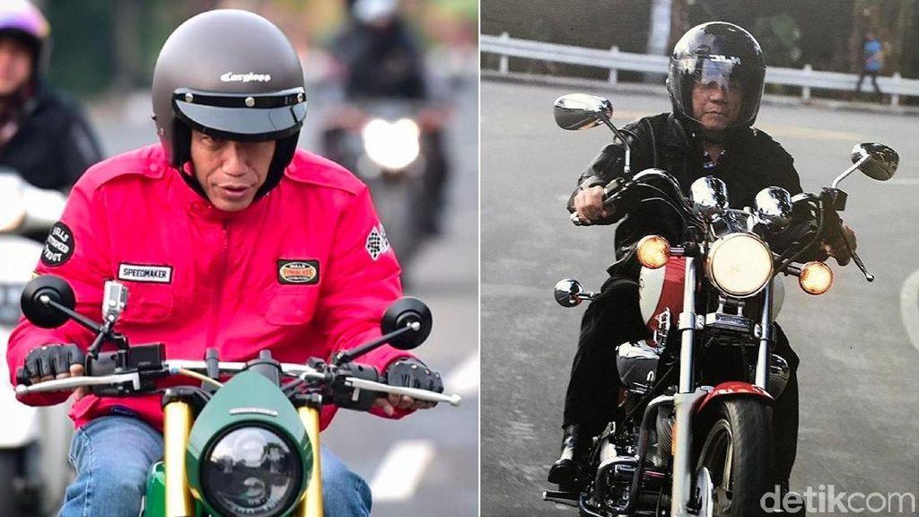 Jokowi dan Duterte Petinggi Negara yang Suka Naik Motor