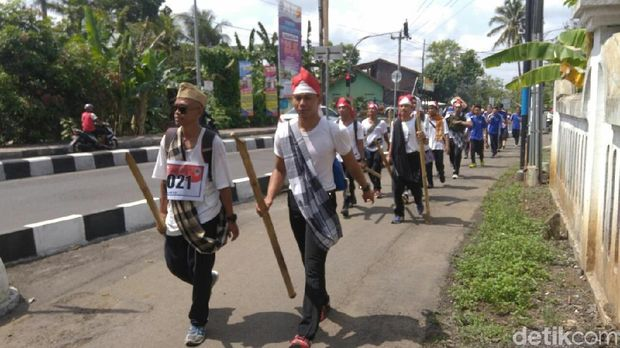 Napak tilas perjuangan Tentara Pelajar di Purworejo.