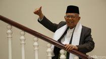 Pesan Maruf Amin Sambut Ramadhan di Tengah Corona