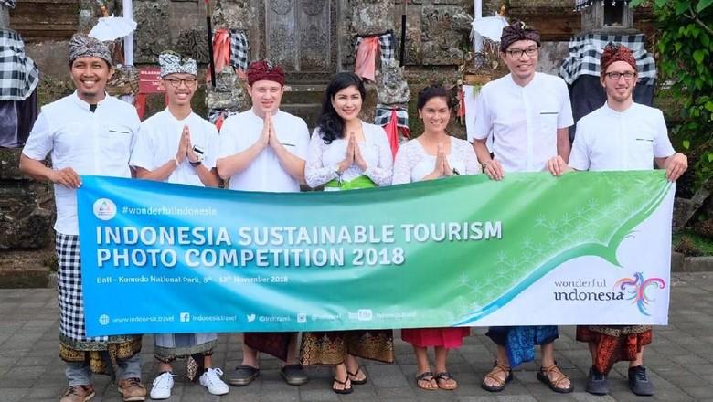 Foto: Pemenang ISTPC 2018 disambut Kemenpar di Bali (dok Kemenpar)