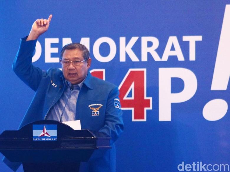 Gaduh di Partai Demokrat, SBY Digoyang Isu Kongres Luar Biasa