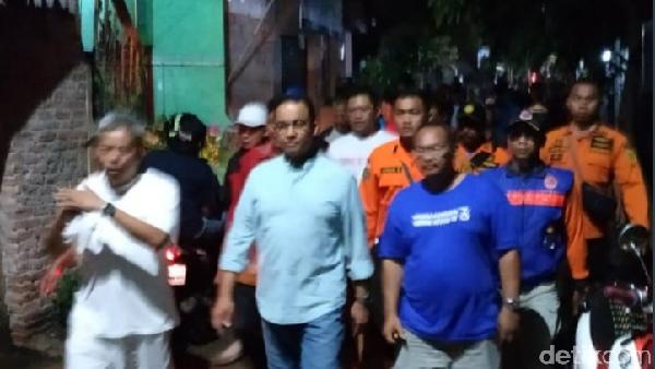 BPBD DKI: Anies Kunjungi Cipinang Melayu, Banjir Berangsur Surut