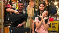 7 Potret Manis Ari Padi dan Keluarga yang Jarang Terekspos