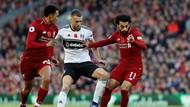 Hasil Liverpool vs Fulham: Salah dan Shaqiri Menangkan Si Merah 2-0