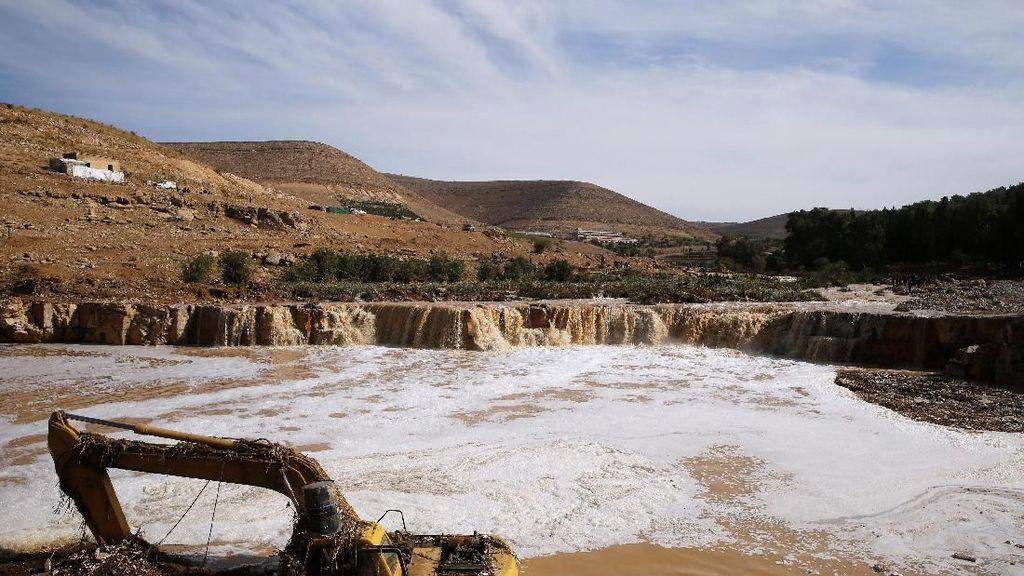 Banjir Yordania Tewaskan 11 Orang
