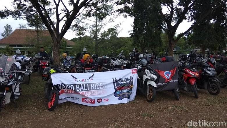 Rayakan Hari Pahlawan, Bikers Vario Gelar Jambore Nasional. Foto: Eko Susanto