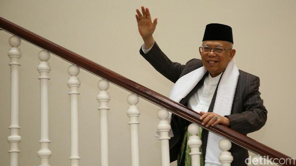 Ustaz Arifin Ilham Meninggal, Maruf Amin Merasa Kehilangan