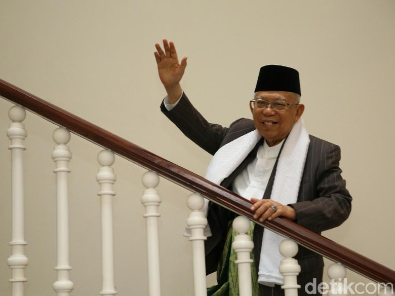 Foto: Maruf Amin (Agung Pambudhy)