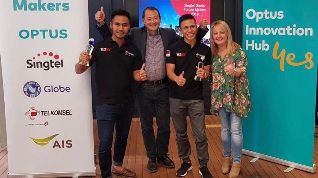 Pemenang NextDev Telkomsel Dapat Penghargaan di Asia Pasifik