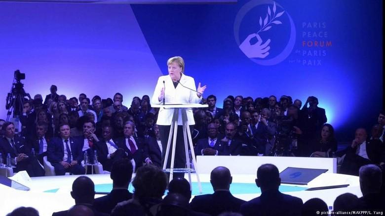 Kanselir Jerman Angela Merkel Ingatkan Pentingnya Perdamaian Dunia